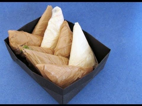 Starts At Sixty!   Make plastic bags a fraction of the size with this cool folding trick