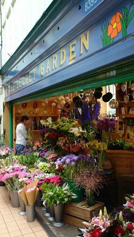 ♔ The Secret Garden Flower shop