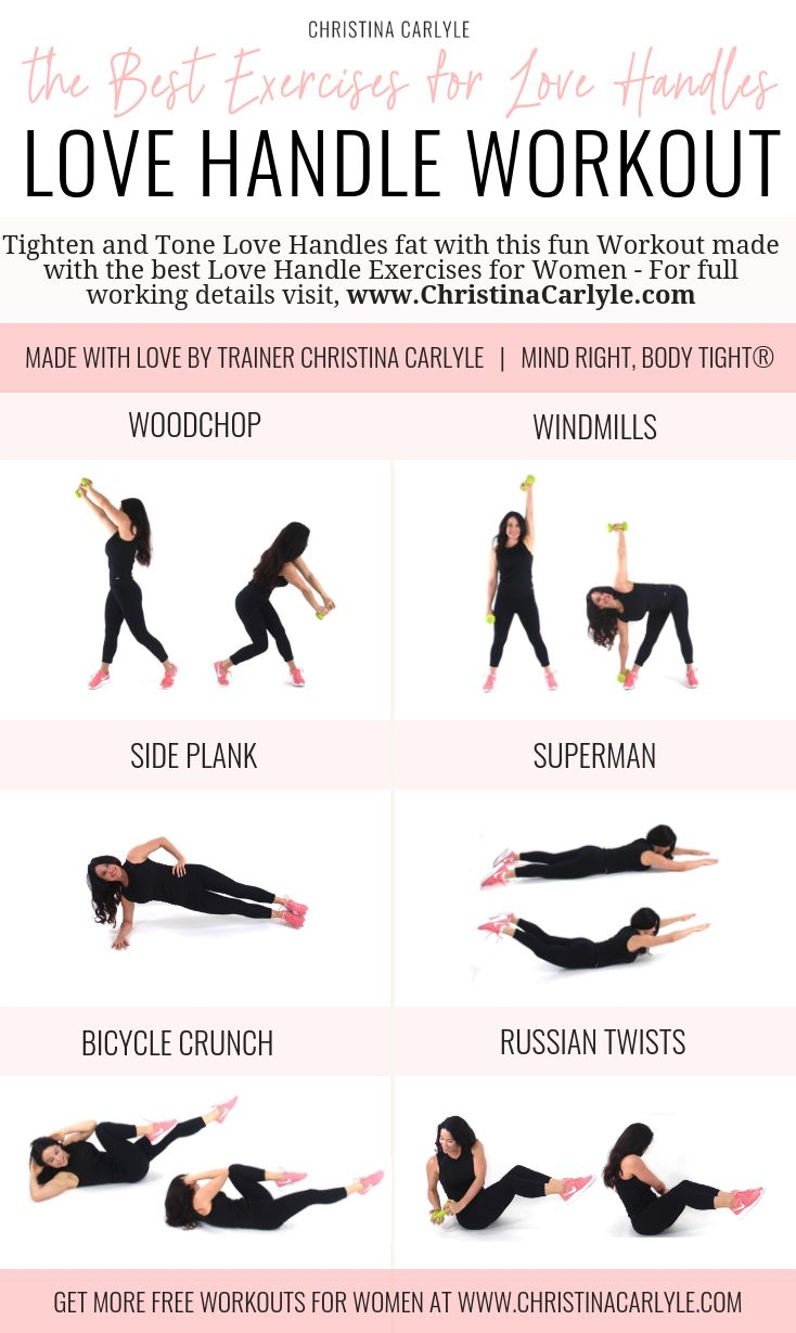 Side Fat Workout Love Handles Work Outs