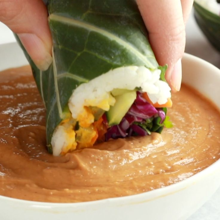 Detox Rainbow Roll-Ups – mit Curry Hummus und Gemüse in einem …   – Food, Drinks and other devotions