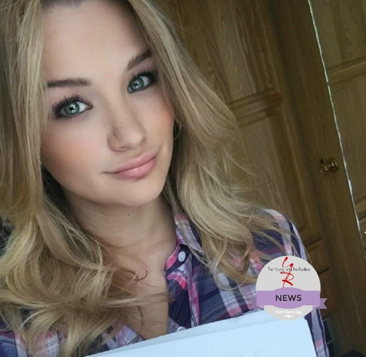 'The Young and the Restless' Hunter King [Summer Newman] hosted a live Question & Answer Twitter event on April 26 at 12:30pm ET. Fans joined in and asked Hunter many questions and also talked about 'Y&R' as it aired on the East Coast. One fans asked how it is to work with Mara McCaffrey [N