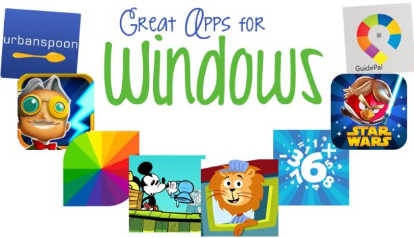 45  Great Apps for Windows 8!