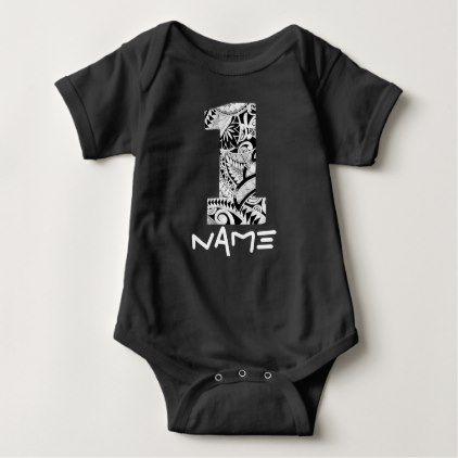 1st Birthday Hawaiian Baby Boy Tribal Shirt - baby birthday sweet gift idea special customize personalize