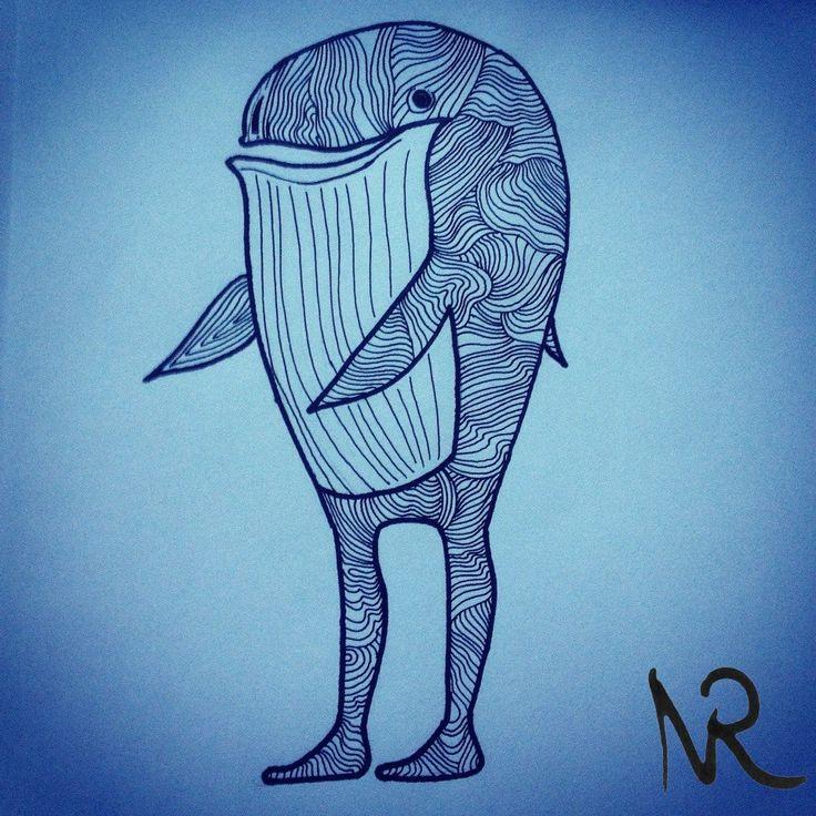 whaleman, superhero.