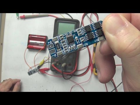 Charging multiple 18650's in Series BMS (MEHS) Episode 55 - YouTube