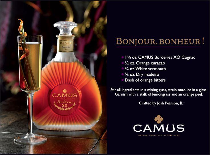Borderies XO, Cocktail : Bonjour Bonheur #cocktail #Cognac #Mixology #alcool #drink