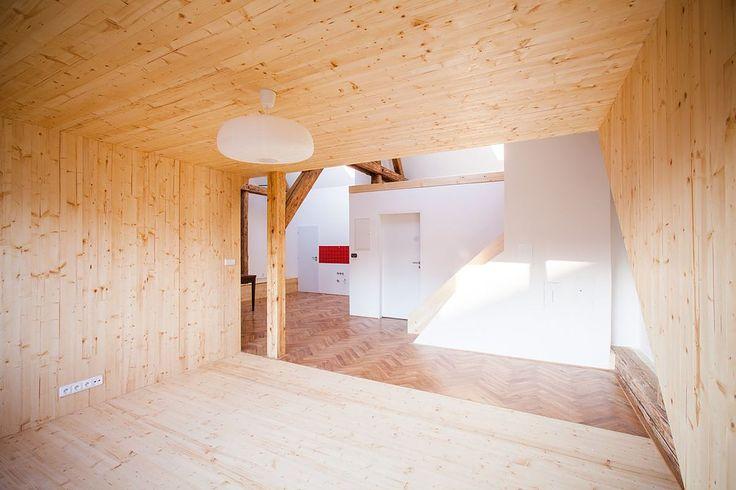 Realizované projekty domů, interiérů a drobných objektů.