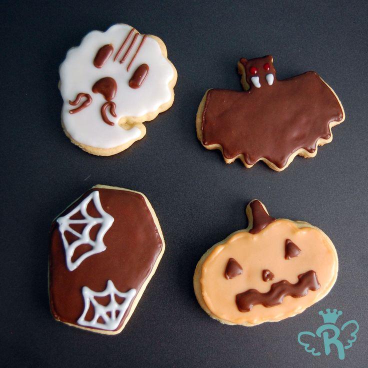 Rainbow .:handmade dreams:. halloween cookies