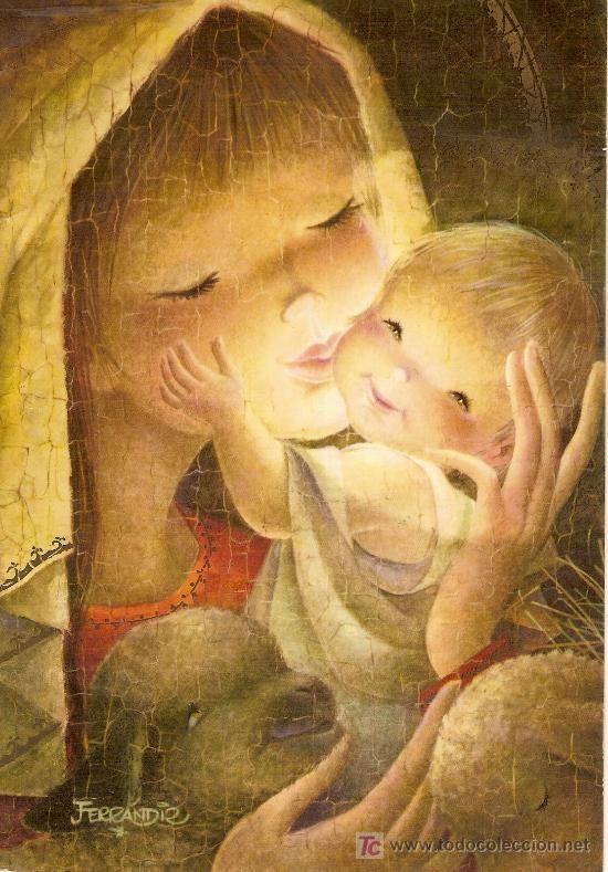 Postal Ferrandiz.20,5 x 14,5 cm.