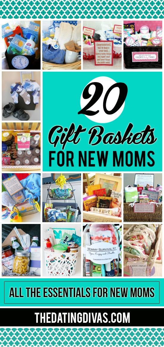 Gift baskets every mom would love!! Such great ideas! Gift basket Ideas #giftbasketideas #giftbaskets