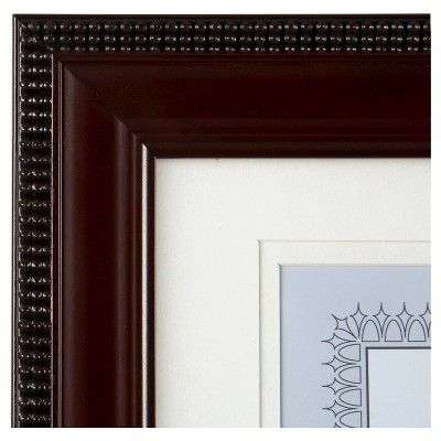 """Gallery Solutions 8.5""""x11"""" Certificate Frame - Mahogany (Brown)"""