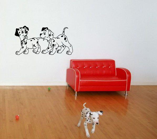 DOG DALMATIAN PUPPY BABY ROOM NURSERY WALL VINYL DECAL STICKER ART MURAL   D7 #3M #MuralArtDecals