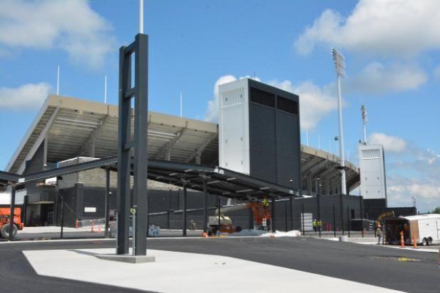 Renovations taking shape at Ralph Wilson Stadium