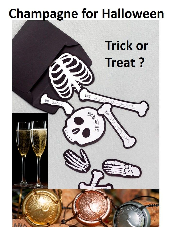 Treat yourself for Halloween, with Champagne