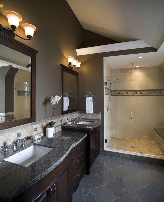 Gray Master Bathroom Ideas: 17 Best Ideas About Dark Grey Bathrooms On Pinterest