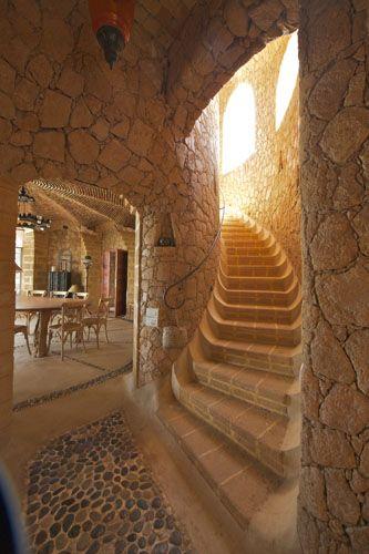 Stone, Elie Mouyal, Marrakech, Morocco, Africa, salle à manger