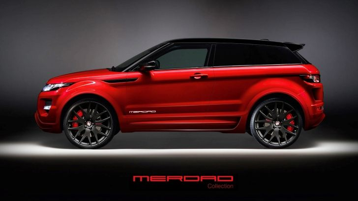 Firenza Red Range Rover Evoque Black edition !!