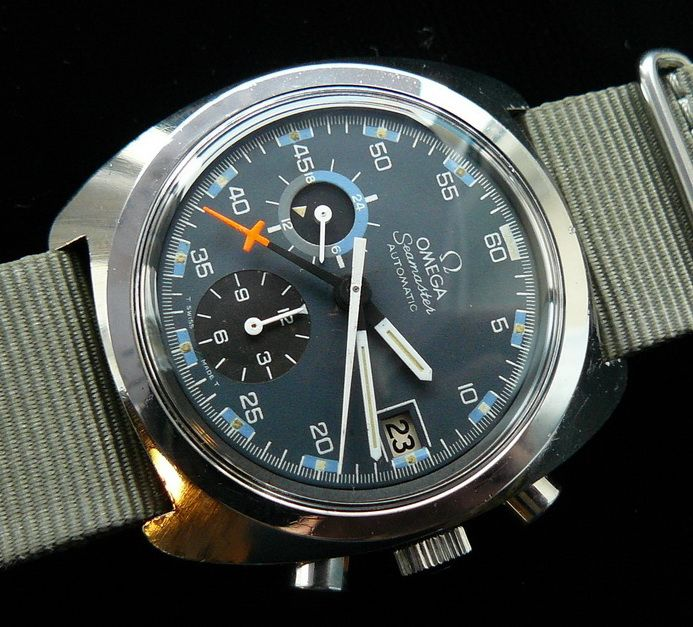 Omega Seamaster Automatic 176001 - Very cool field look to this watch