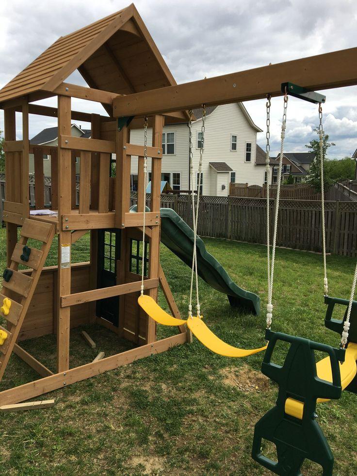 Big Backyard F23220 Windale swing set assembly by ...