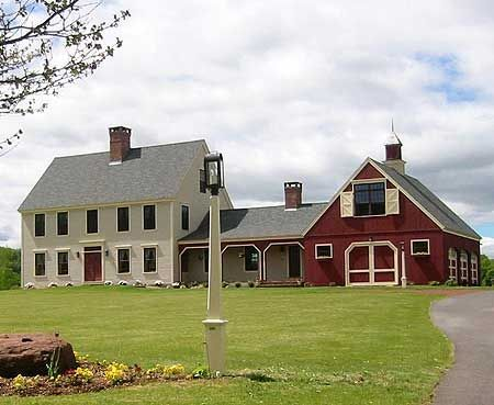 Colonial With Attached Garage Barn Google Search