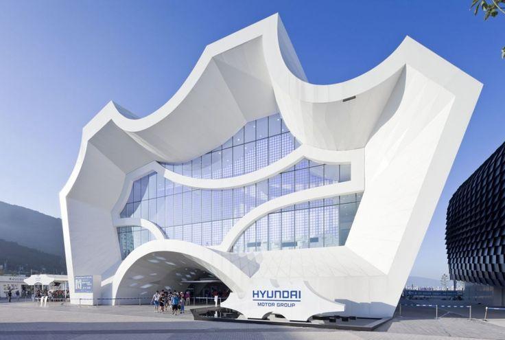 Hyundai Pavilion / Unsangdong Architects - South Korea