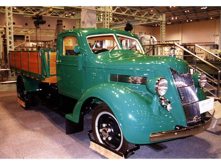 Toyota G1 - Toyota's first truck!  Google Image Result for http://gearheads.org/wp-content/uploads/2012/05/Toyota-G1.jpg