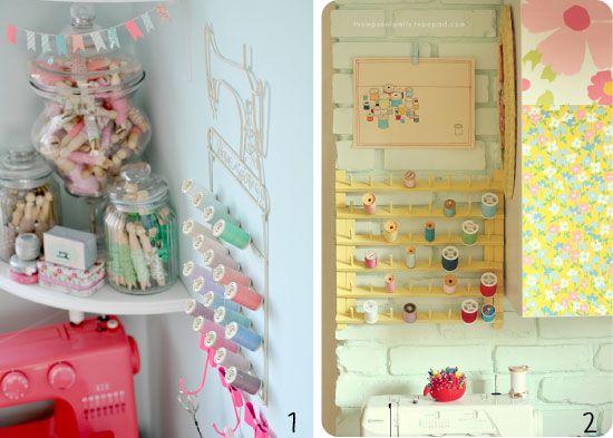 Comment organiser son coin couture id es pour la maison pinterest coins coin couture - Couture pour la maison ...