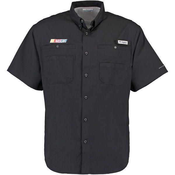 NASCAR Merchandise Columbia Tamiami PFG Shirt - Black - $64.99