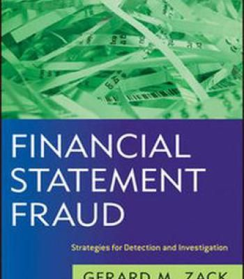 Financial Statement Fraud: Strategies For Detection And Investigation PDF