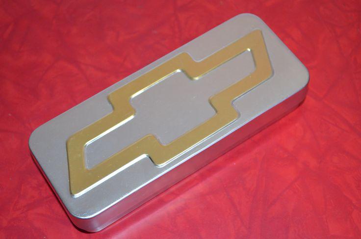 Chevrolet Chevy Tin Trinket Box http://cnctbay.wix.com/crowe-s-nest