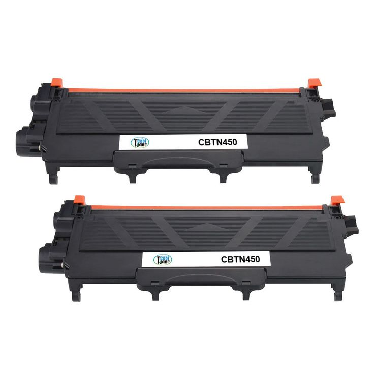 2PK TN-450 TN450 Compatible Black Toner Cartridge for Brother 7240 7360 7460 #CoolToner