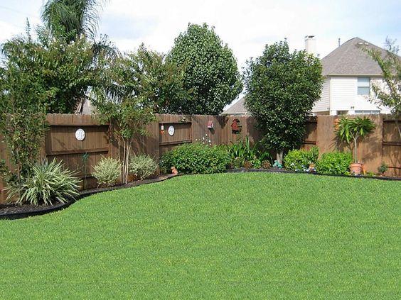 backyard landscape ideas for privacy