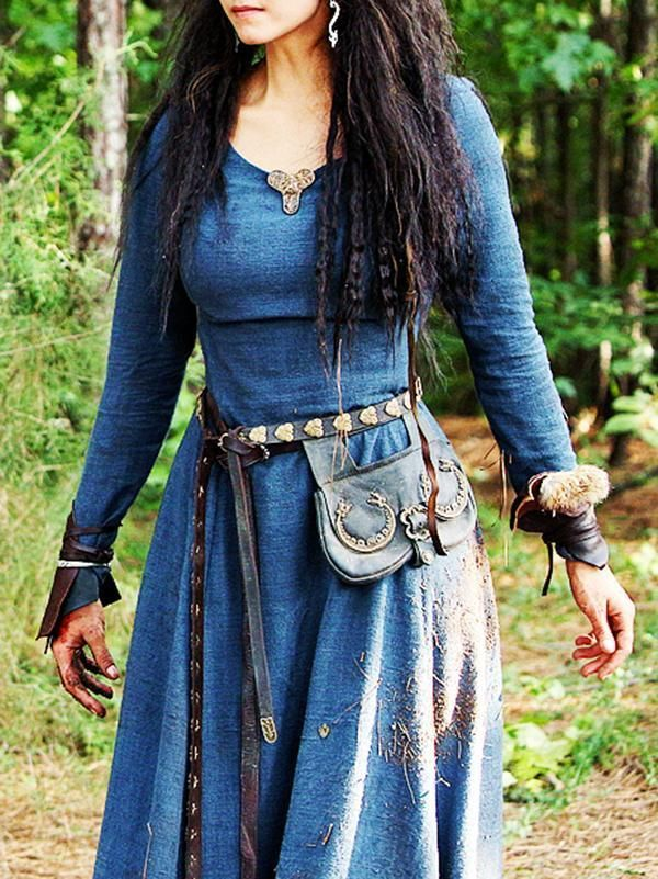 Classic Waisted Medieval Dress Medieval Dress Viking Dress Medieval Clothing
