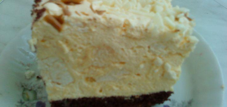 Ciasto Beskidzkie z kremem z adwokatem i bezami - main