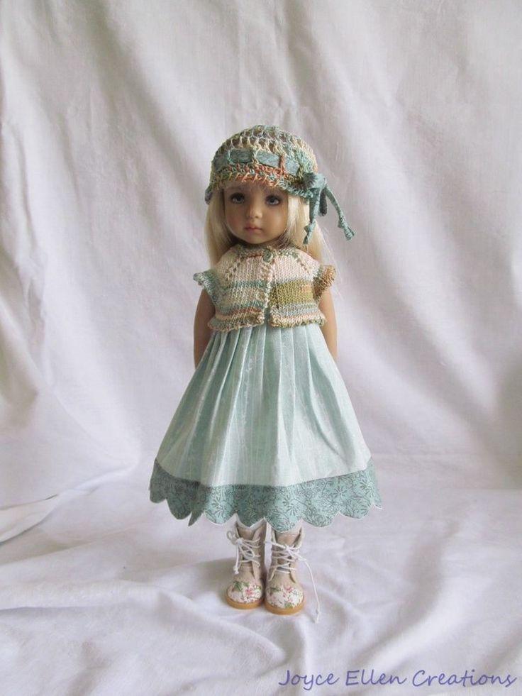 "13"" Dianna Effner Little Darling Fashion Sea Glass set OOAK handmade by JEC #JoyceEllenCreations"