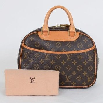 Louis Vuitton Trouville Monogram Bag - Satchel. Save 27% on the Louis Vuitton Trouville Monogram Bag - Satchel! This satchel is a top 10 member favorite on Tradesy. See how much you can save