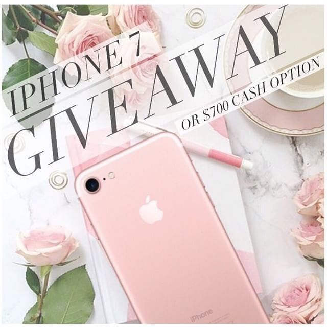iPHONE 7 - INTERNATIONAL GIFT   I have partnered with some amazing bloggers & shops to give one lucky winner an iPHONE 7! (Or Cash Option) . Please follow rules 1-5 in order to qualify: 1 FOLLOW US 2 LIKE this photo 3 GO TO @loveforlacquer and FOLLOW. 4 REPEAT steps 1-3 until you make it back here. (You MUST follow all pages to qualify.) 5 COMMENT your favorite color below. .  BONUS ENTRY: Tag a friend in the comments for an EXTRA ENTRY! ( ONE tag per comment!)  . must tag a real account fake and celebrity accounts will be disqualified.) . All entries must be completed by 5/19/17 at 6PM PST. - Winner will be announced within 48 hours of loop close by Host: Lavish_Loops. . Prize must be claimed within 48 hours or it will be forfeited. Winner is required to post Winner photo prize photo upon receipt pay for any taxes and shipping costs and fill out tax form and/or provide contact information for taxes. Private accounts must be made public until winner is chosen. You may not have won a previous gift valued $300. By entering you confirm that you are 18 years of age and shall adhere to Instagram's terms of use. VOID WHERE PROHIBITED. NO PURCHASE NECESSARY.