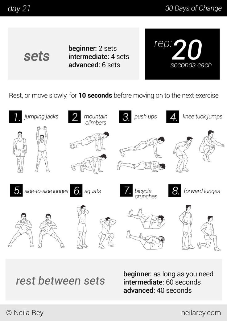 no equipment 30 day workout program the best article every day challenges pinterest the. Black Bedroom Furniture Sets. Home Design Ideas
