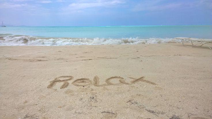 Just love sun, sea and sand! #beach #waves #sand #relax