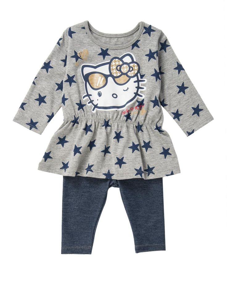 Hello Kitty Top & Leggings Set