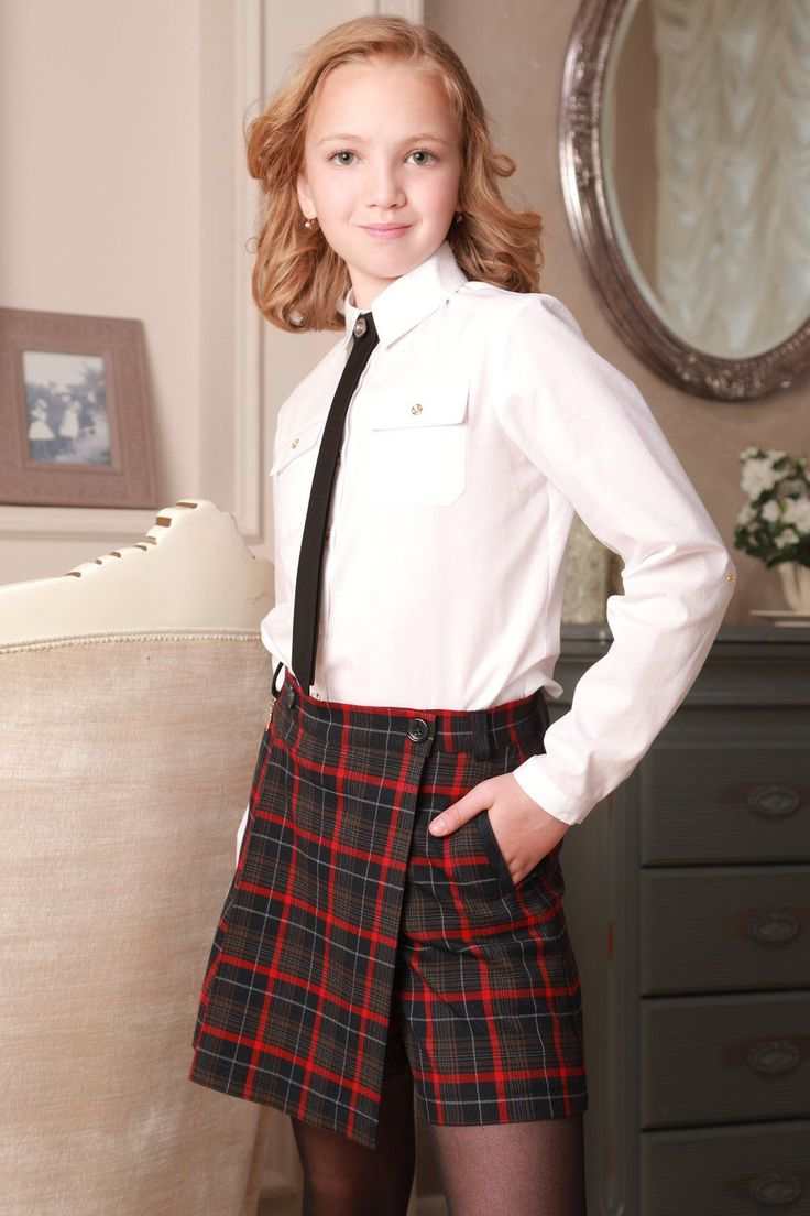 современная школьная одежда для девушек