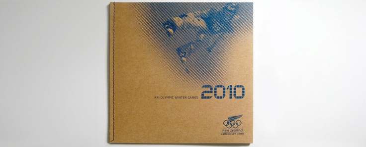 2010 Winter Olympics - New Zealand team commemorative book