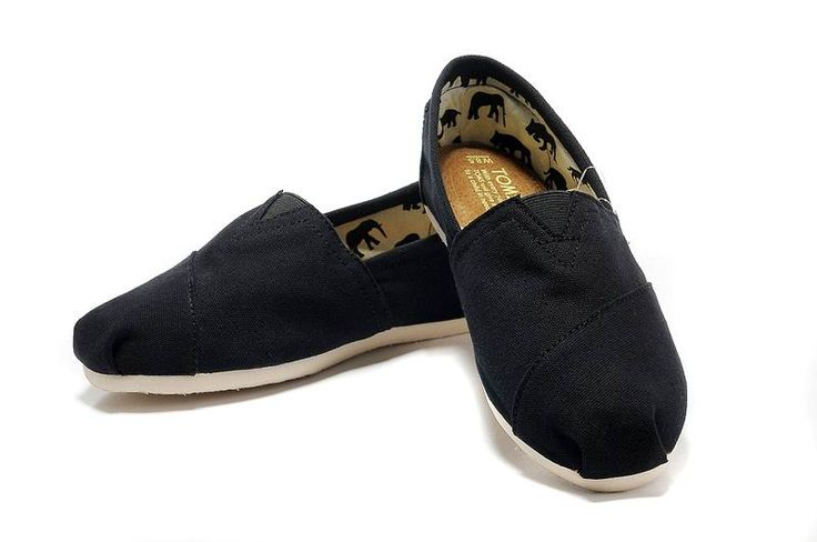Toms Classics Black Women Shoes