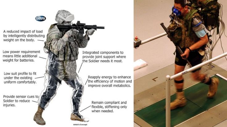 PHOTO: The new TALOS armor is designed to add armored protection for Special Operations soldiers.