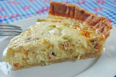 Bacon & Havarti Quiche ~ Simple and Fresh Summer #SundaySupper with LAND O LAKES® | Juanita's CocinaRecipe, Bacon Quiches, Eating Breakfast Brunches, Havarti Cheese, Juanita Cocina, Havarti Quiches, Cooking, Bacon Havarti, Breakfasts Brunches