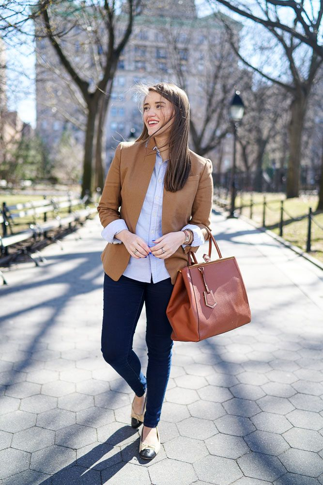 The Perfect Camel Blazer   Covering the Bases   Fashion and Travel Blog New York City