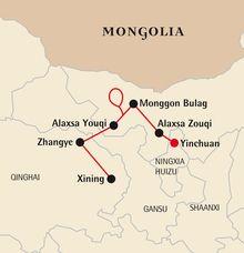 Méharée à Badain Jaran - Chine