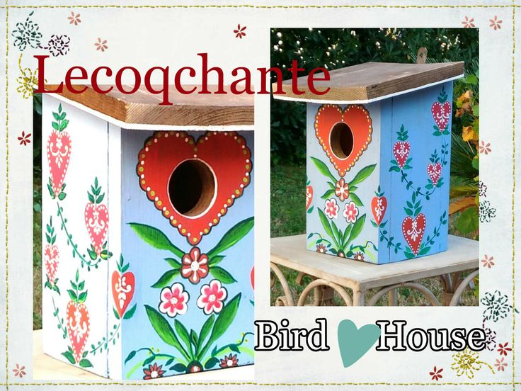 il blog di lecoqchante: Nidi d'amore