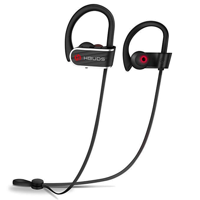 Bluetooth Headphones Ihbuds Waterproof Ipx7 Wireless Sports Earbuds Deep Bass Hifi Stereo In Ear Earphones Built I Bluetooth Headphones Sport Earphones Earbuds