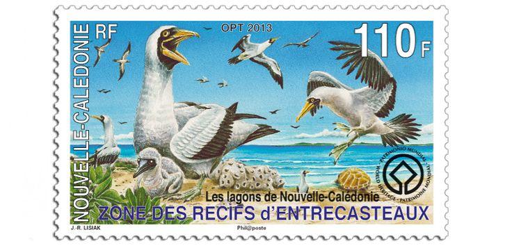 COLLECTORZPEDIA: New Caledonia Stamps Lagoons of New Caledonia - UNESCO World Heritage